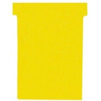 Nobo T-Card A50 Size 2 Yellow Code Pack 100 Code 2002004