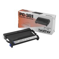 Brother Fax Ribbon Thermal Page Life 235pp Black Ref PC-301