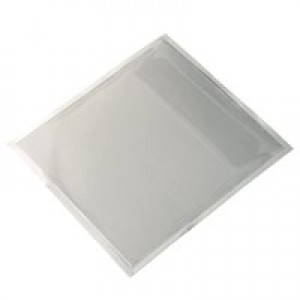 Durable PocketFix Self Adhesive CD Pocket with Flap 127x127mm Top Opening Pack 100