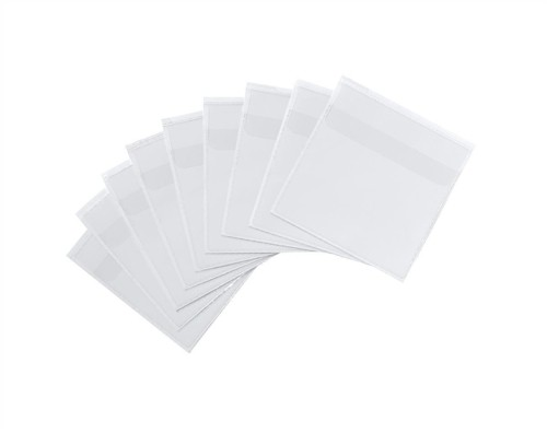 Durable Pocketfix¨ Self Adhesive Top Opening CD Pocket and Flap Transparent Ref 8080 [Pack 10]