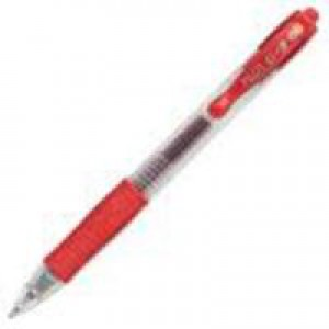Pilot Gel Ink Retractable Rollerball Pen 0.4mm Line Red G20702