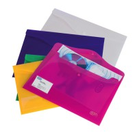 Image for Elba Bright Identity Wallets A4 Assorted Colours Ref 205831 [Pack 5]