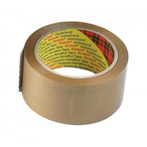 Scotch Classic Packaging Tape W50mmxL66m Buff Ref C5066T [Pack 6]