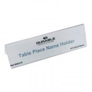 Durable Table Name Holder 61X210 PK25