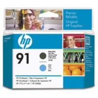 Hewlett Packard No91 Print Head Matte Black/Cyan C9460A