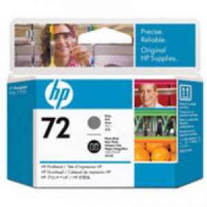 Hewlett Packard [HP] No. 72 Inkjet Cartridge Grey & Photo Black Ref C9380A