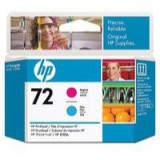 HP No.72 Printhead Magenta and Cyan Cartridge Code C9383A