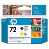 Hewlett Packard [HP] No. 72 Inkjet Cartridge Matt Black & Yellow Ref C9384A