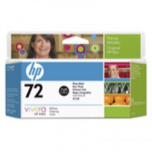 Hewlett Packard [HP] No. 72 Inkjet Cartridge Vivera Ink 130ml Photo Black Ref C9370A