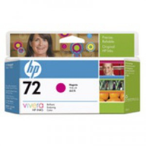 Hewlett Packard [HP] No. 72 Inkjet Cartridge Vivera Ink 130ml Magenta Ref C9372A