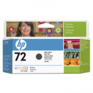HP No.72 Inkjet Cartridge 130ml Matte Black Code C9403A