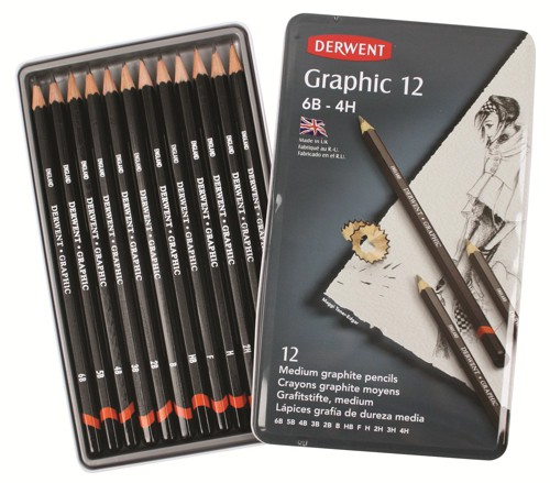 Rxl Derwent Pencil-Designer Pk12 34214