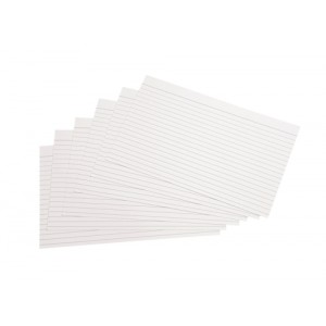 5 Star Record Cards 203x127mm Pk B223100