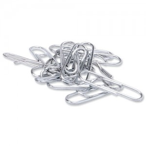 5 Star Paper Clips Large Lipped Bxd 1000