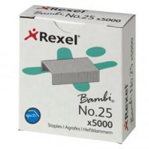 Rexel 25 Staples 4mm 05025 Bxd 5000