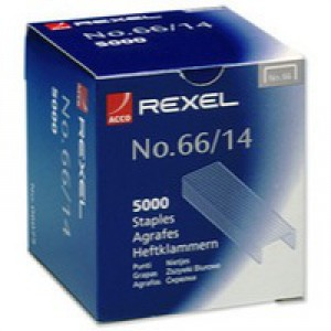 Rexel 66 Staples 14mm 06075 Bxd 5000
