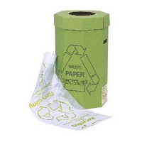 Bin Liners Reusable Capacity 95 Litres Clear [Roll 50]