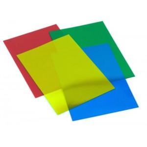 GBC Binding Covers PVC 180 micron Tinted A4 Blue Ref CEO11820E [Pack 50x2]