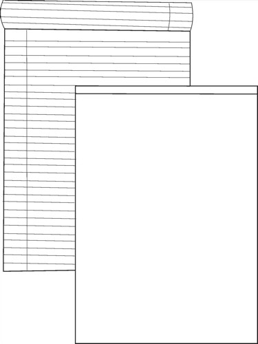 White Box Memo Pad Ruled 80 Sheets 200x150mm [Pack 10]