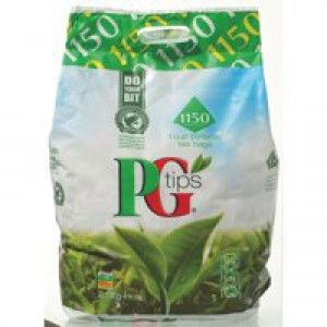 PG Tips Tea Bags Pyramid 1 Cup Ref A07591 [Pack 1150]