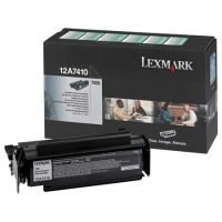 Lexmark T420 Return Programme Print Toner Cartridge Black 12A7410