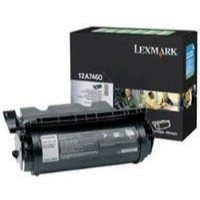 Lexmark Laser Toner Cartridge Return Program Page Life 5000pp Black Ref 12A7460