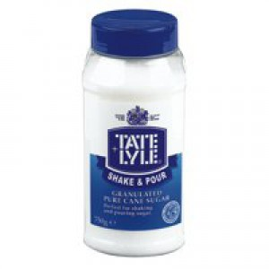 Tate and Lyle White Sugar Tub Dispenser 750g Code A03907