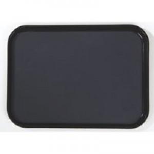 Tray Non Slip Polypropylene Dishwasher Safe W390xD290mm Black