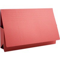 Image for Guildhall Probate Wallets Manilla 315gsm 75mm Foolscap Red Ref PRW2-REDZ [Pack 25]