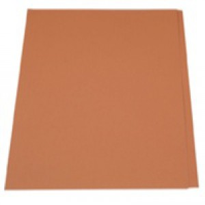 Guildhall Square Cut Folder Foolscap 315gsm Orange FS315