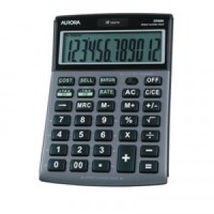 Aurora Desktpp Multi Function Calc DT661