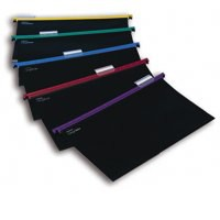 Snopake HangGlider Suspension Files Polypropylene with Tabs A4 Assorted Ref 10296 [Pack 25]