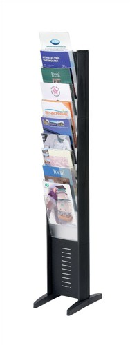 Display Mobile 16 Compartment Black