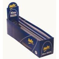 Helix Ruler Plastic Shatter-resistant 10ths 16ths/inch and Millimetres 300mm Light Blue Tint Ref L16025