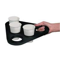 Cup Carry Tray Capacity 6 of 7oz or 9oz [Pack 10]