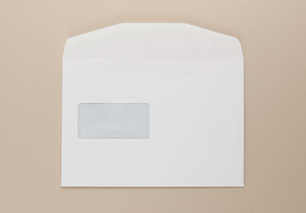 Opportunity White C5+ Envelope Wdw 162 X 229Mm Medium weight boxed 500
