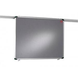 Nobo Pro-Rail Wall Rail for Displays 2.4m Ref 1901229
