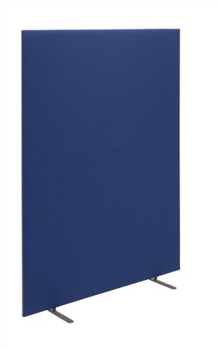 Trexus 800 Screen Free-standing with Stabilising Feet W800xH1500mm Royal