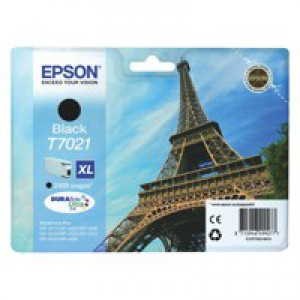 Epson Eiffel Tower Ink Cartridge XL Black C13T70214010