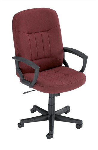 Trexus High Back Manager Armchair W520xD420xH420-520mm Backrest H620mm Burgundy