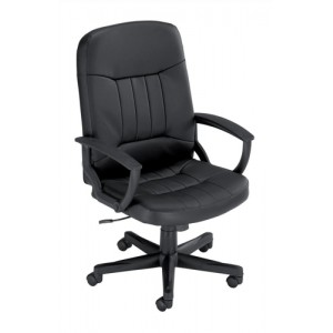 Trexus High Back Manager Armchair W520xD480xH420-530mm Backrest H620mm Leather