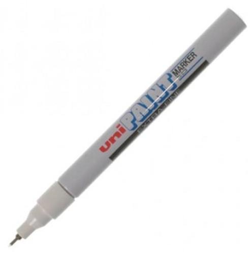 uni Paint Marker Bullet Tip Needlepoint PX203 Line Width 0.8mm White Ref 9001992 [Pack 12]