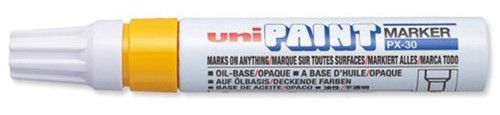 Uni Paint Marker PX30 Broad Yellow Code 9001986