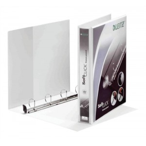 Leitz 25mm pres binder wht 42010001