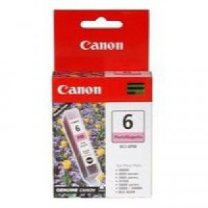 Canon BCI-6PM Inkjet Cartridge Page Life 280pp Photo Magenta Ref 4710A002