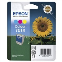 Epson Stylus Color 680 Inkjet Cartridge 3-Colour 37ml T018 C13T018401