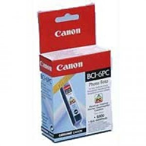 Canon BCI-6PC Inkjet Cartridge Page Life 280pp Photo Cyan Ref 4709A002