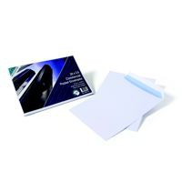 Purely Pocket Envelope C4 Self Seal 90gsm White   Retail Packed Pack 25