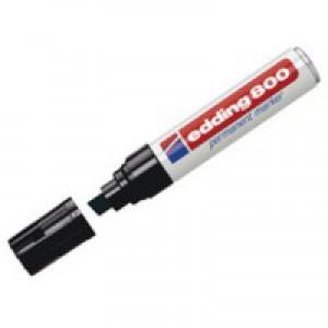 Edding Permanent Marker Broad Tip Black 800/5-001