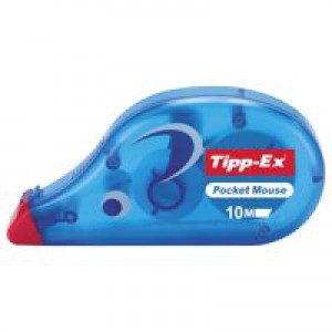 Tipp-Ex Pocket Mouse Corrector Retail Blister Packed Single 820790